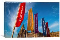 Its Liverpool, Canvas Print