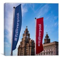 Its Liverpool (square crop), Canvas Print