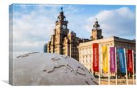 Liverpool - centre of the world, Canvas Print