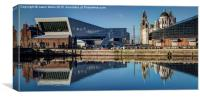 Reflections of Pier Head, Canvas Print