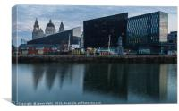Mann Island & the Three Graces, Canvas Print
