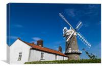 Great Bircham windmill, Canvas Print