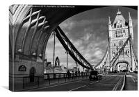 London - England - The Tower Bridge, Canvas Print