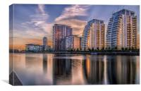 Quayside Apartments, Canvas Print