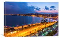 Torquay Seafront, Canvas Print