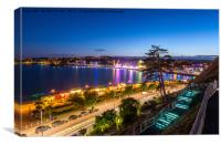 Torquay Seafront , Canvas Print