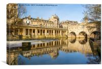 Pulteney Bridge, Bath., Canvas Print
