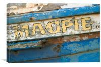 Magpie, Canvas Print