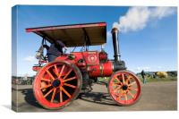 Traction Engine Wellington, Canvas Print