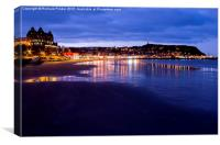 South Bay, Scarborough North Yorkshire, Canvas Print