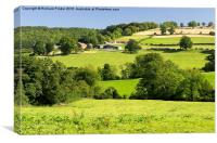 The Yorkshire Wolds, Canvas Print