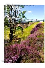 Hamer Bridge, North York Moors, Canvas Print