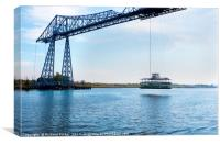 TeesTransporter Bridge, Canvas Print