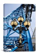 Tees Transporter Bridge, Canvas Print