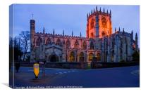 St Mary's Parish Church, Beverley, Canvas Print
