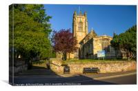 All Saints Parish Church, Great Driffield, Canvas Print