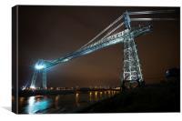 Newport Transporter Bridge, Canvas Print