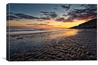 Dunraven Sunset, Canvas Print