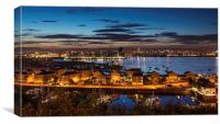 Cardiff City Scape, Canvas Print