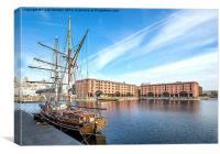 Albert Docks Liverpool, Canvas Print