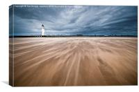 WideSands at New Brightron, Canvas Print