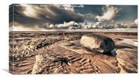 HDR Sands, Canvas Print