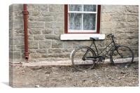 Vintage Bicycle, Canvas Print
