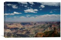 Point Imperial Grand Canyon, Canvas Print