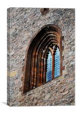 Bell Tower Window, Canvas Print