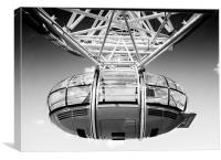 London Eye Pod, Canvas Print