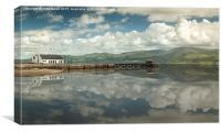 Beaumaris Pier, Canvas Print