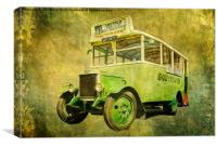 Dennis Bus from 1937, Canvas Print