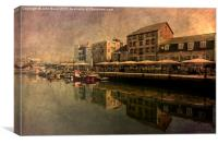 The Barbican Plymouth , Canvas Print