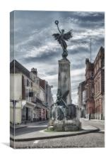 Lewes war memorial, Canvas Print