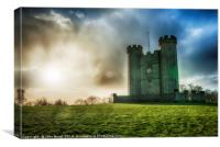 Hiorne's Tower Arundel West Sussex UK, Canvas Print