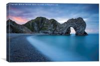 Durdle Door Dawn, Canvas Print