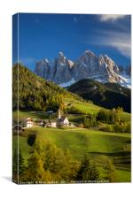 Dolomite Afternoon II, Canvas Print