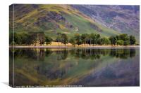 Buttermere Reflections II, Canvas Print
