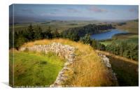 Hadrian's Wall II, Canvas Print