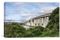 Orwell Bridge Suffolk, Canvas Print