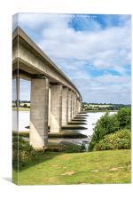 Orwell Bridge, Canvas Print