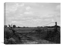 Gate to the Countryside, Canvas Print