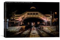 Beverley Train Station, Canvas Print