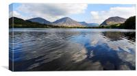Loweswater From Holme Wood 2, Canvas Print