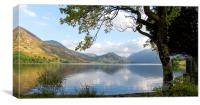 Crummock Water from The Pump House 2, Canvas Print