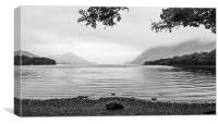 Another Wet Day At The Lake, Canvas Print