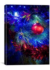 Glittering Christmas, Canvas Print