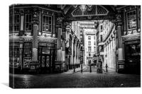 Lovers In Leadenhall, Canvas Print