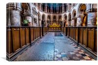 Sanctuary, St. Bartholomew the Great. , Canvas Print