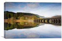 Elan Valley Reservoir, Canvas Print